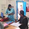 సచివాలయాలను ఆకస్మిక తనిఖీ చేసిన వీఎంసీ కమిషనర్