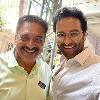 Manchu Vishnu selfie with Prakash Raj