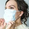 people forgotten wearing face masks