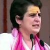 Priyanka Gandhi wears Chandan on Forehead and Durga Stuti at Varanasi