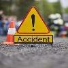 Speaker Pocharam Convoy Car Hits a Man On Road