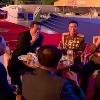 Kim Jong Un enjoys with beer and smoke at defense expo