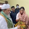 YS Sharmila met muslim priests