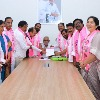TRS ministers files nomination behalf of KCR for party presidential elections