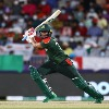 Bangladesh posted respectable score against Oman