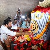 Kishan Reddy visit Rammappa Temple and offers special prayers