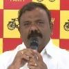 Yarapathineni Srinivasa Rao comments on AP DGP