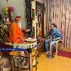 Bandla Ganesh met Ganapathi Sachidananda Swami in Mysore