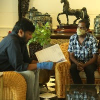 Chiranjeevi gives helping hand for a ardent fan
