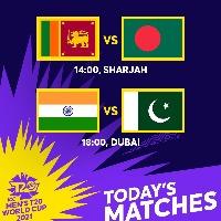 All Asian battles today in Super Twelve