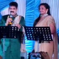 YSRCP MLA Karanam Dharmasri sings in his daughter wedding