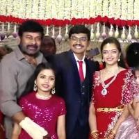 Chiranjeevi and Pawan Kalyan attends Mandali Buddha Prasad son wedding