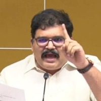 My daughter became panic with YSRCP attacks says Pattabhi