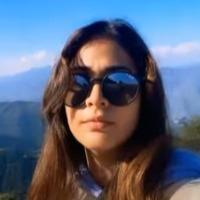 Lavanya Tripathi clims George Everest