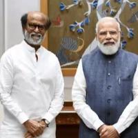 Rajinikanth meets Ram Nath Kovind and Narendra Modi