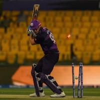 Namibia bowlers shaken Scotland batting lineup