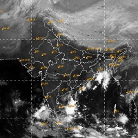Low pressure in Bay Of Bengal and three day rain forecast for AP