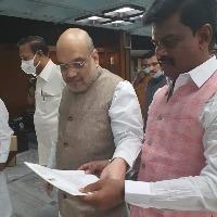 YSRCP MP Gorantla Madhav complains against TDP leader Pattabhi on his remarks on Jagan