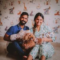 Dinesh Karthik and Deepika Pallikal blessed twin baby boys