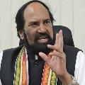TPCC Chief Uttam Kumar Reddy writes open letter to CM KCR