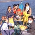 Tollywood actress Anushka visits maha nandeeswara swamy temple in polavaram
