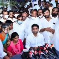 After discussion with Nara Lokesh police registered case against YSRCP Proddutur MLA