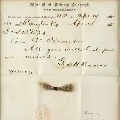 Lock of Abraham Lincolns hair along with telegram auctioned