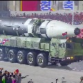 Kim Jong Un shows monster missile to the world