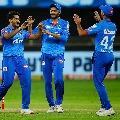 Delhi capital won by 13 runs over Rajasthan royals