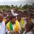 Balayya strong warning in Hindupur tour