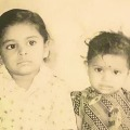 Kavitha tweets her childhood photo along with her brother KTR