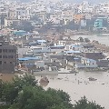Tamilnadu government announces ten crore rupees for flood effected Hyderabad