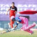Tewatia hits huge sixers after Saini beamer