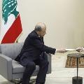 Lebanon president accepts govt resignation