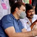 Rahul Gandhi participate in farmers protest at delhi