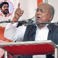 V Hanumantha Rao vs Revanth Reddy in Rythu Polikeka