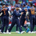 Australia set huge target to Teamindia in second match