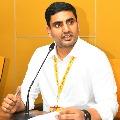 TDP MLC Nara Lokesh questions CM Jagan for not wearing mask