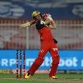 AB de Villiers smashes Kolkata bowling as RCB registered a huge total