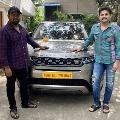 Range Rover Luxuary Car Gifted to Venky Kudumula from Hero Nitin
