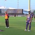 Sunrisers won the toss against Kolkata Knight Riders