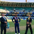 Teamindia won the toss in Sydney clash