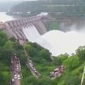 Srisailam Dams 5 gates lifted