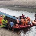 Forty passengers died in Madhya Pradesh bus mishap