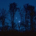 Jupiter and Mars comes extremely close to each other