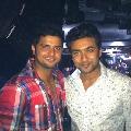 Hero Suriya supports cricketer Suresh Raina