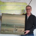 Businessman lost his valuable painting at a German airport