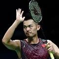 Olympics postponed Lin Dan calls time on glorious care