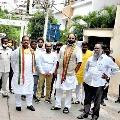 Uttam Kumar Redday slams Telangana police
