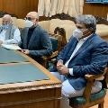 TDP MPs meets Nirmala Sitharaman